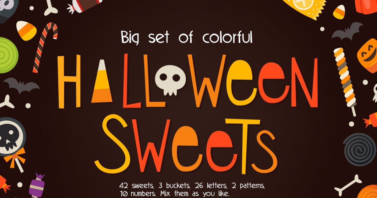 Download Loads of sweets for Halloween by moonery