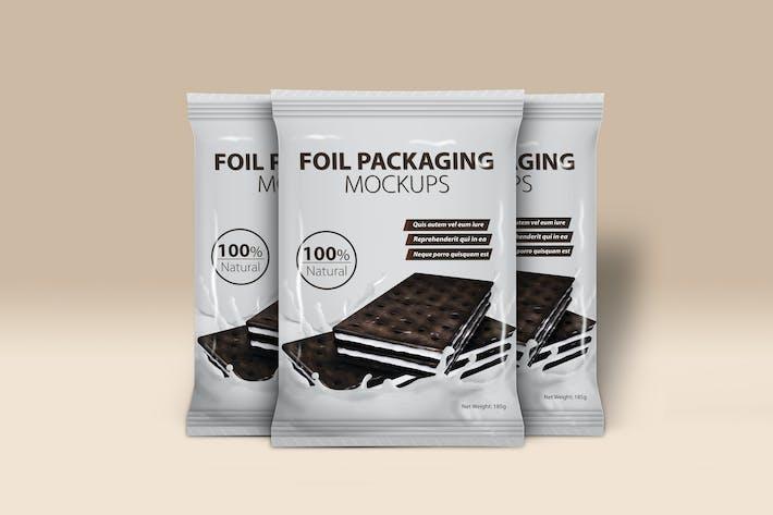 Thumbnail for Foil Packaging Mockups Vol.2