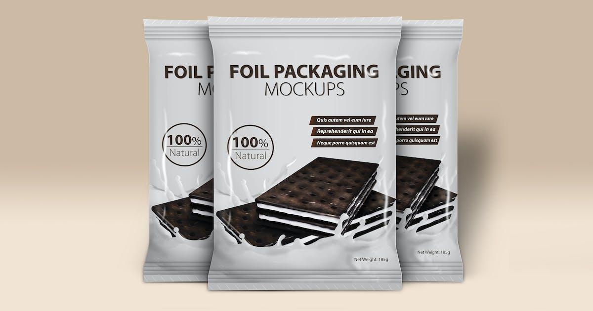 Download Foil Packaging Mockups Vol.2 by Wutip