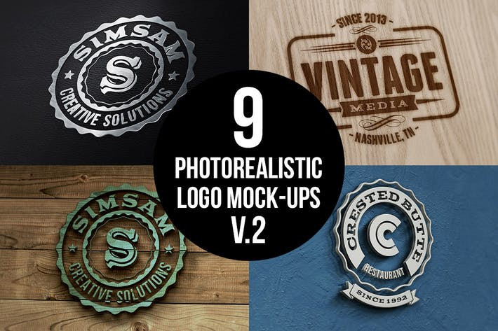 Thumbnail for Photorealistic Logo Mock-Ups Vol.2