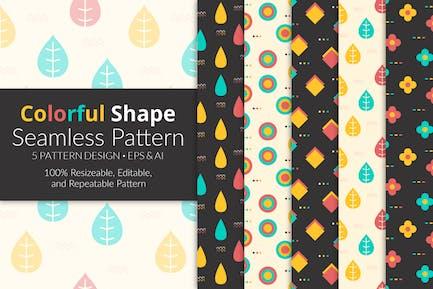 Colorful Shape Seamless Pattern