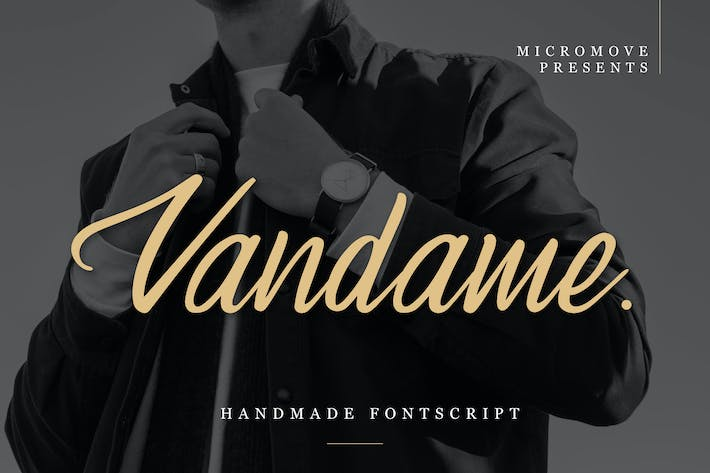 Thumbnail for Vandame - Fontscript