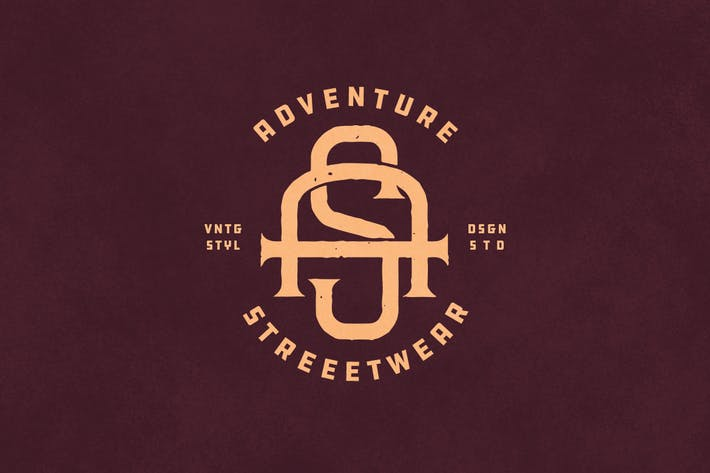 Thumbnail for AS Vintage Monogram Logo