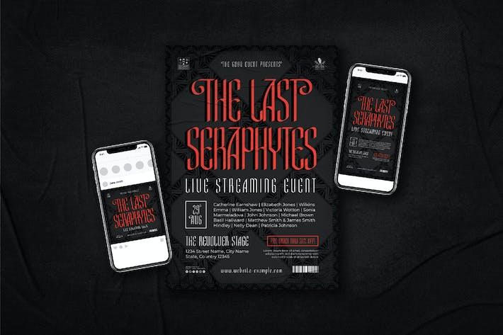 Seraphytes Flyer + Instagram + Badge