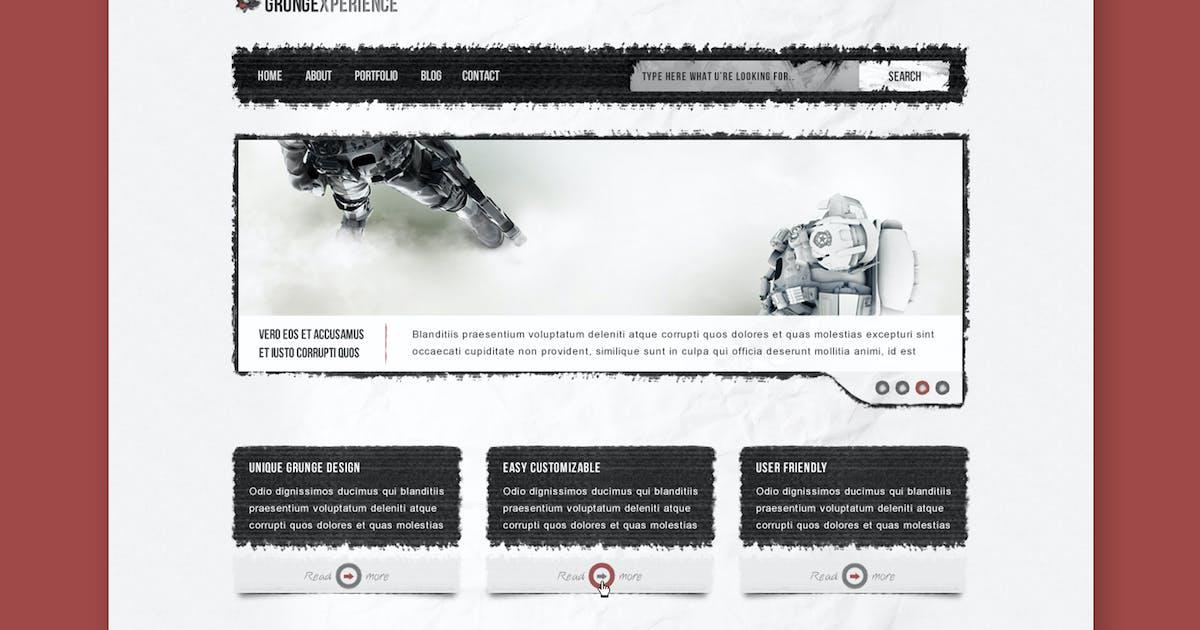 Grungexperience - Premium HTML Template by PremiumLayers