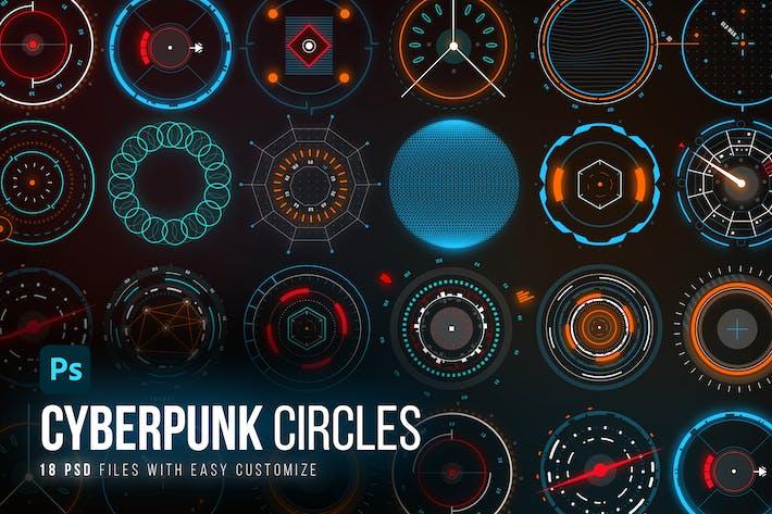 Thumbnail for Modular Sci-Fi Circles