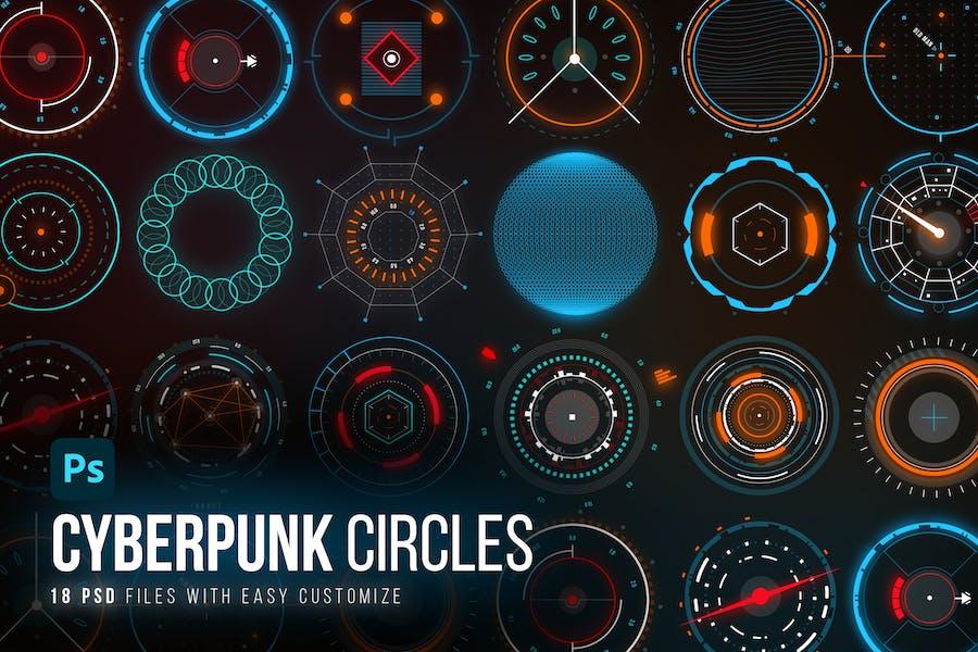 Modular Sci-Fi Circles