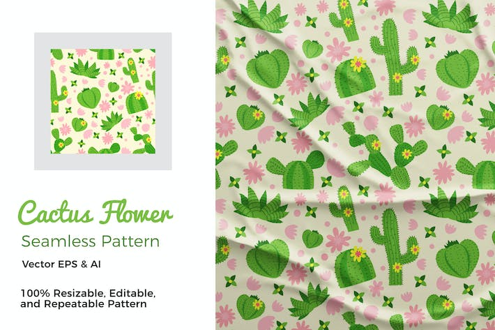 Thumbnail for Cactus Pattern