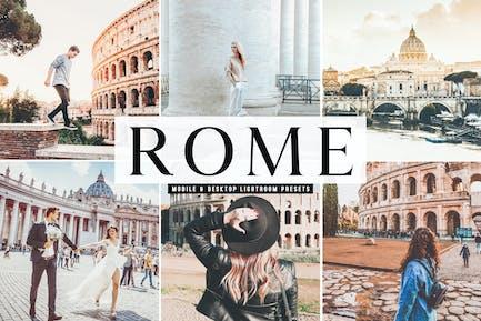 Rome Mobile & Desktop Lightroom Presets