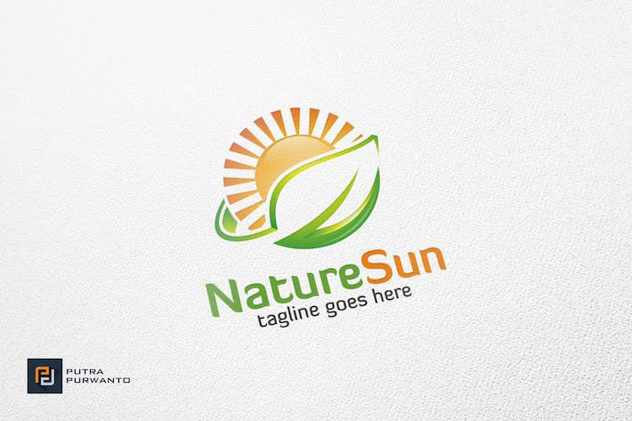 Thumbnail for Nature Sun - Logo Template
