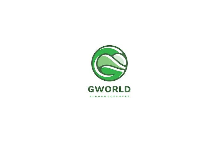 Cover Image For Green World Logo