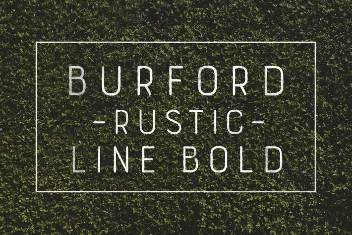 Thumbnail for Burford Rustic Line Bold