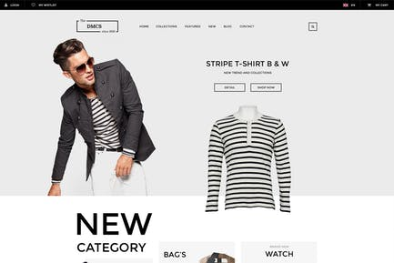 DMCS - Ecommerce PSD Template