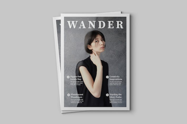 Cover Image For Wander Magazine