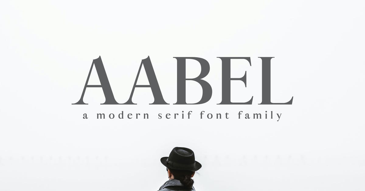 Aable A Modern Serif Font Family by creativetacos