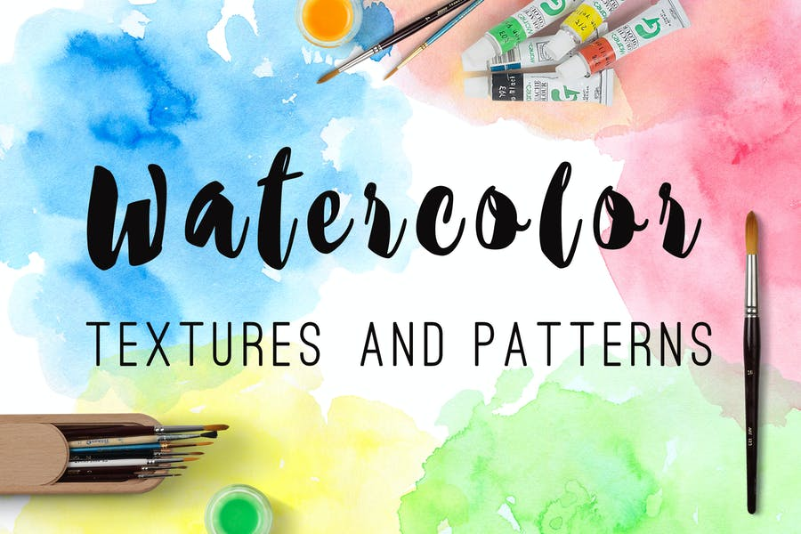 Watercolor Textures and Patterns