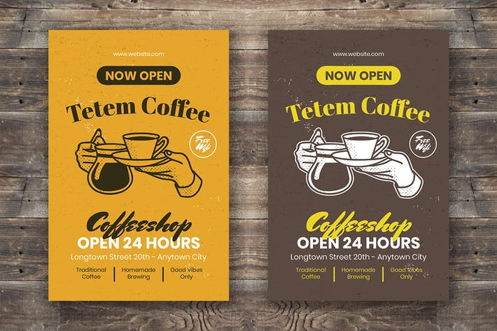 Thumbnail for Coffee Flyer