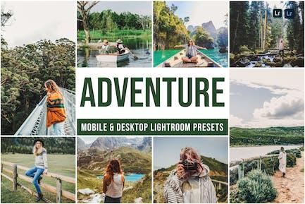Adventure Mobile and Desktop Lightroom Presets