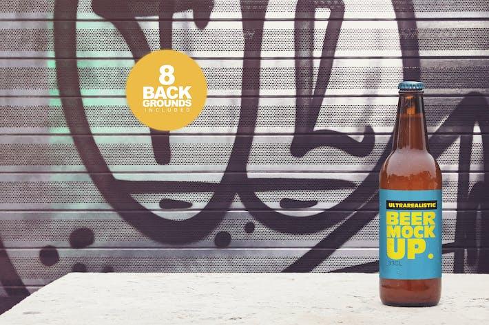 50cl Garage Beer Mockup