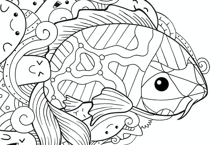 Thumbnail for Koi Fisch Doodle