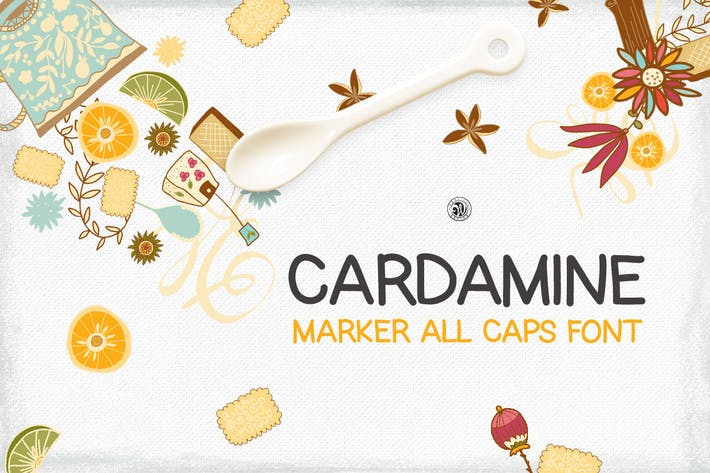 Thumbnail for Cardamine Font