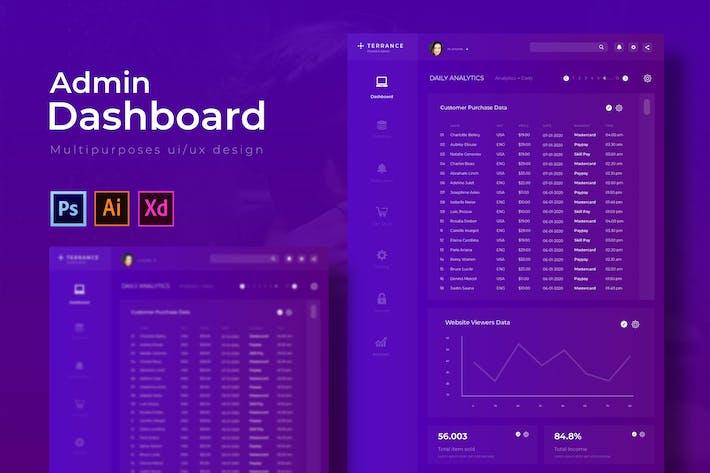 Thumbnail for Terrance Dashboard | Admin Template