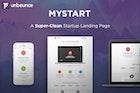 MyStart - Startup Unbounce Landing Page