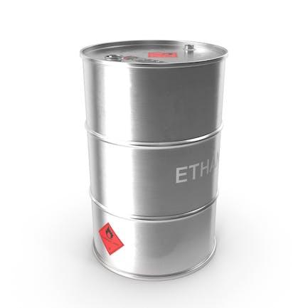 Barril metálico etanol