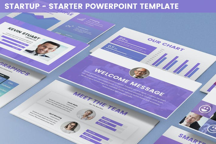 Thumbnail for Startup - Starter Powerpoint Template