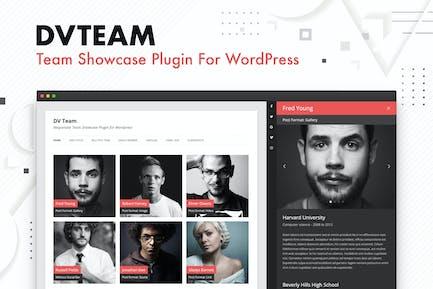 DV Team - Team Showcase Plugin For WordPress