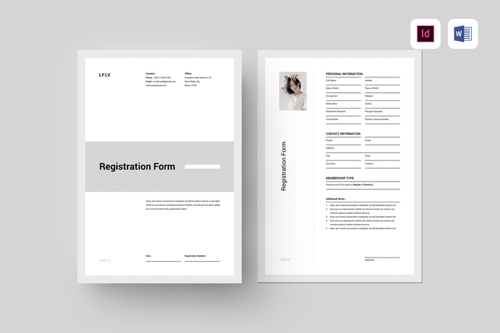 Thumbnail for Registration Form