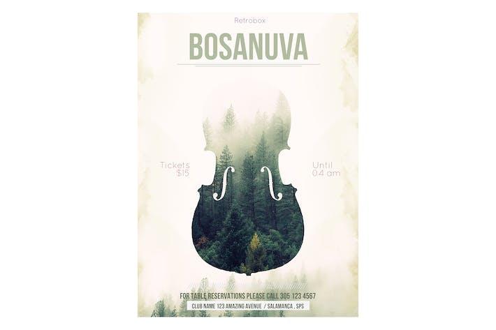 Thumbnail for Bosanuva Flyer Poster