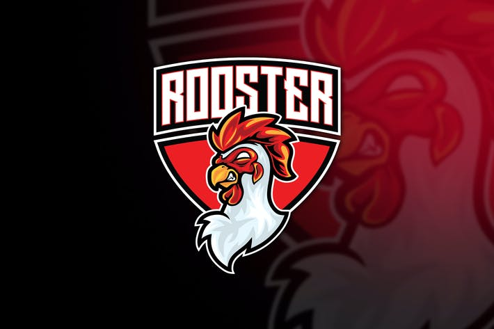 Thumbnail for Rooster Esport Logo Template