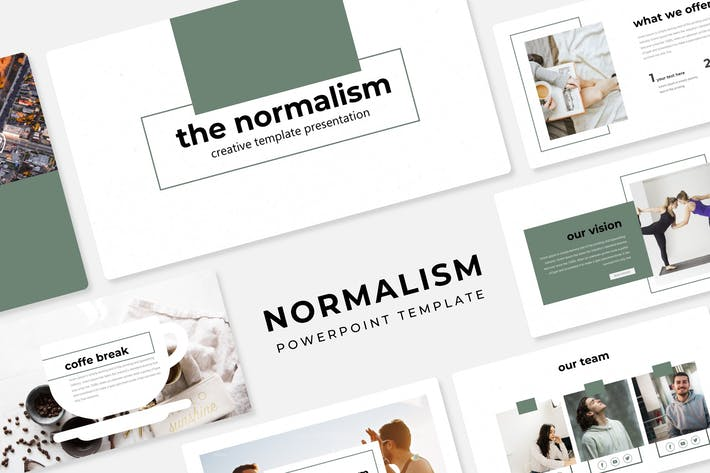 Thumbnail for Normalismo - Plantilla Powerpoint