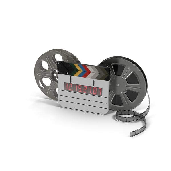 Movie Reels with Clapper