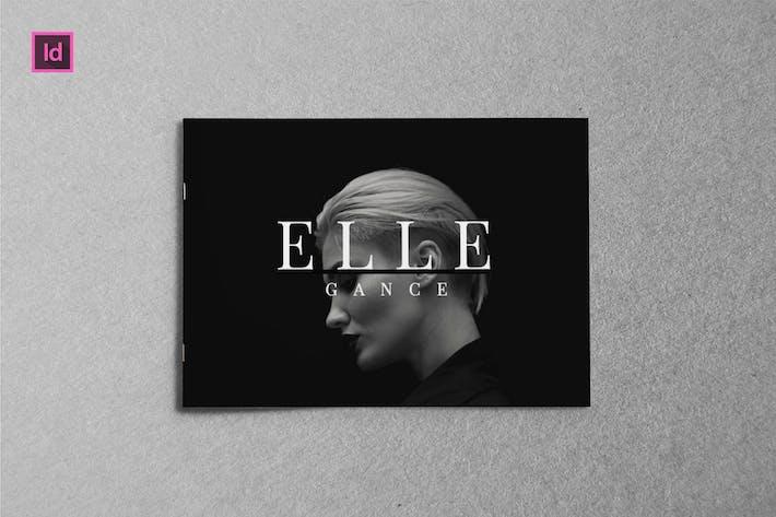 Thumbnail for ELLEGANCE - Modèle A5 Landscape Lookbook