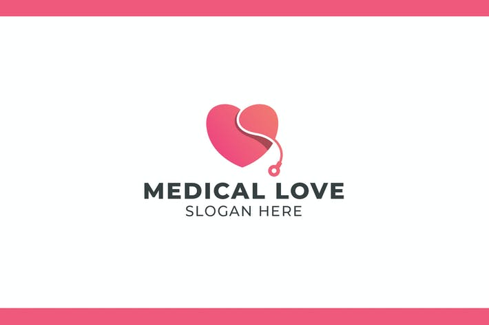 Cover Image For Medical Love Logo