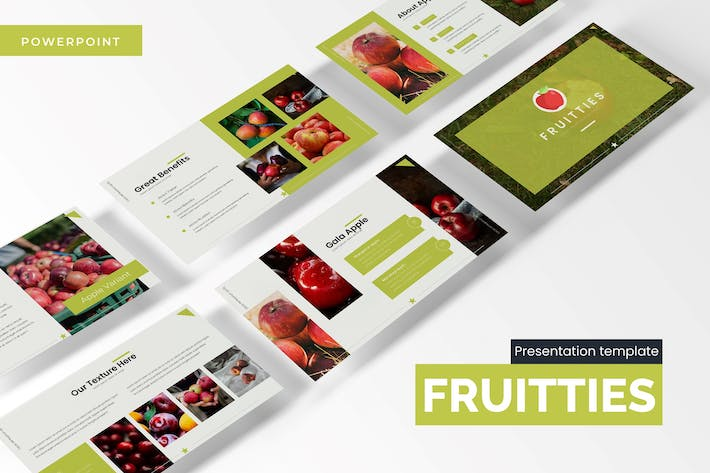 Thumbnail for Fruitties - Powerpoint Template