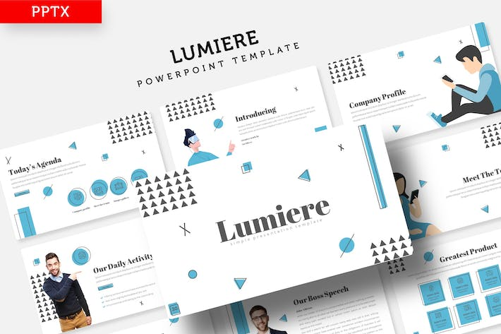 Thumbnail for Lumiere - Шаблон Powerpoint