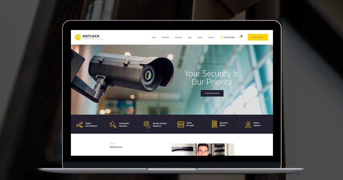 Download HotLock by axiomthemes