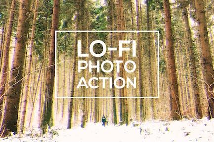 Ло-Фи фото действие