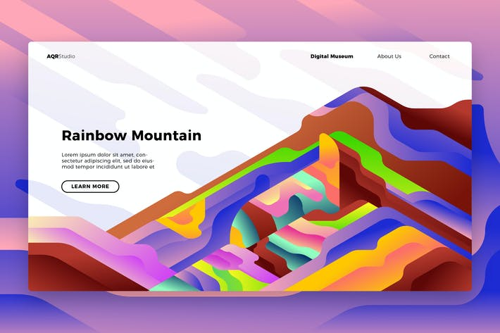 Thumbnail for Geology Rainbow - Banner & Landing Page