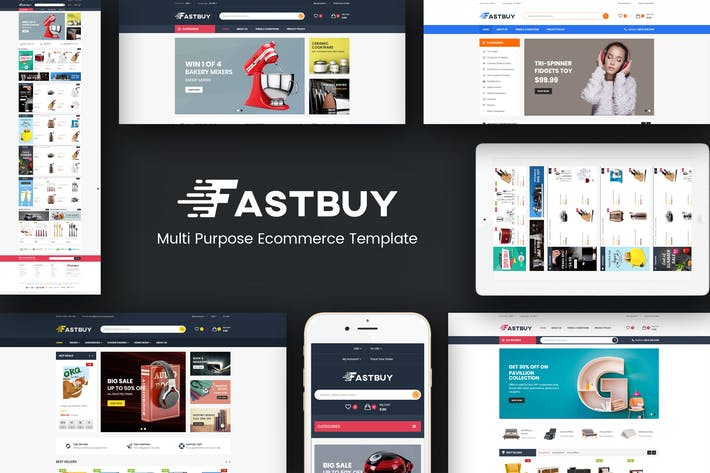 Thumbnail for FastBuy - Mega Shop Responsive Prestashop  Theme