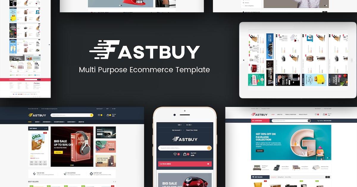 Download FastBuy - Mega Shop Responsive Prestashop  Theme by posthemes