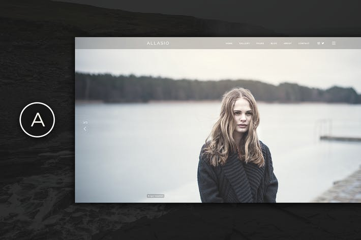 Thumbnail for Allasio - An Exquisite Photography and Lifestyle B