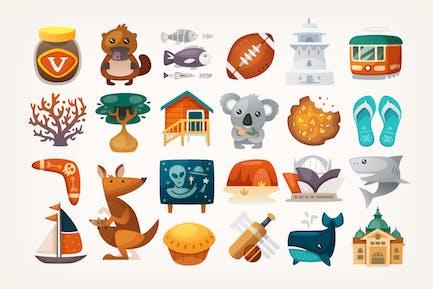 Australische Icons