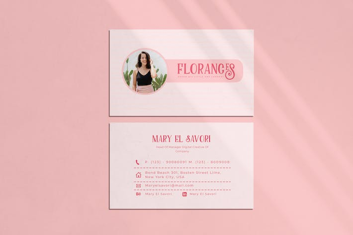Thumbnail for Florance Business Card