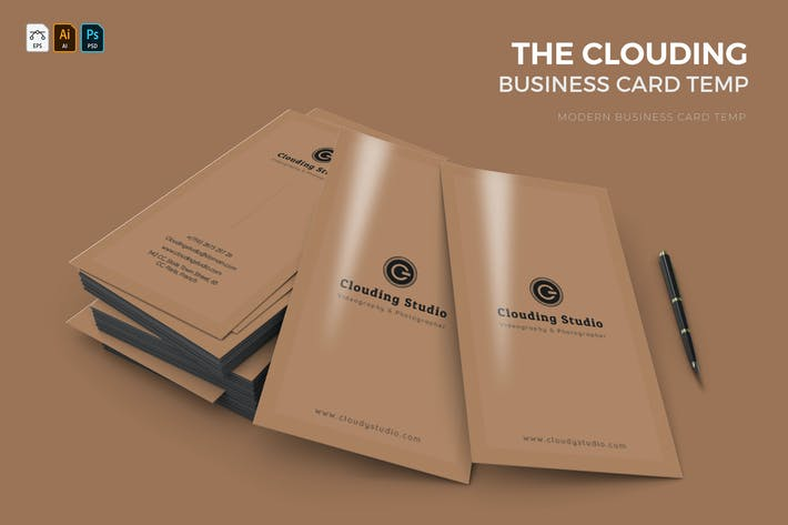 Clouding | Business Card
