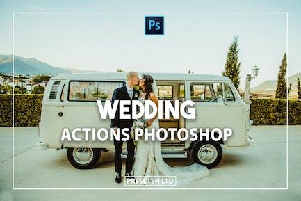 Свадебный Photoshop Действия