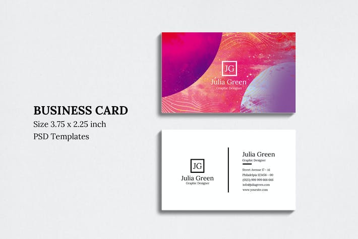 Thumbnail for Abstract Business Card Vol 05